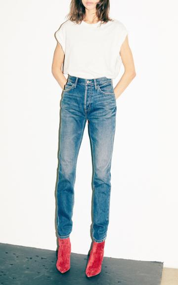 Current/elliott The Stovepipe High Waisted Jean