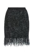 Paule Ka Tweed Fringe Skirt