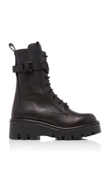 Moda Operandi Valentino Combat Boots