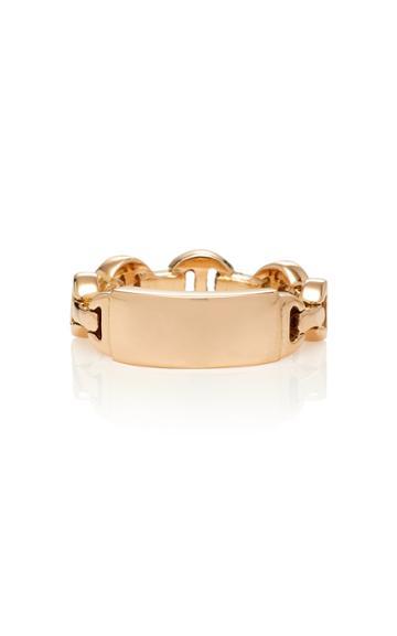 Hoorsenbuhs M'onogram Tri-link Ring