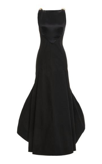 Moda Operandi Loewe Satin Gown