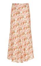 Moda Operandi Markarian Piero Floral Satin Bias Skirt Size: 0