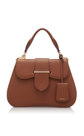 Prada Large City Calf Cartella Bag