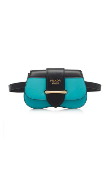 Prada Cahier City Calf Belt Bag
