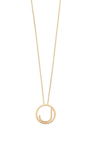 Moda Operandi Robinson Pelham 14k Yellow Gold Medium Alphabet Circus Necklace