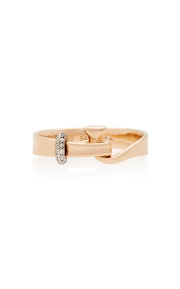 Georg Jensen Rose Gold Torun Ring