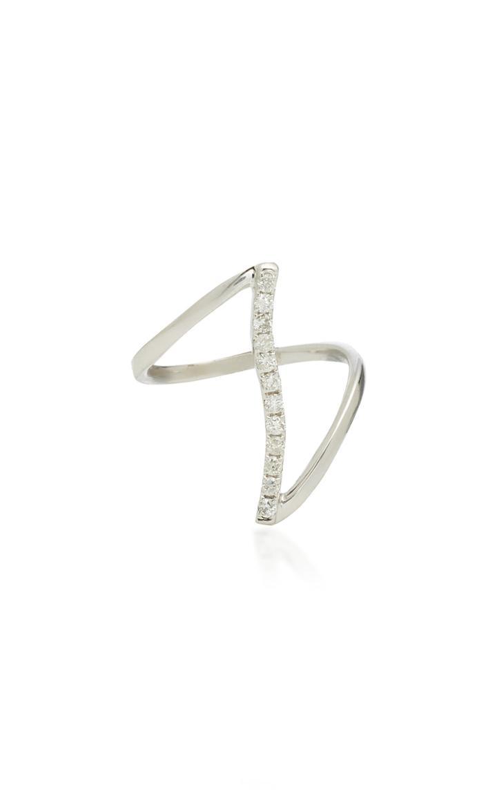 Graziela 18k White Gold Diamond Ring