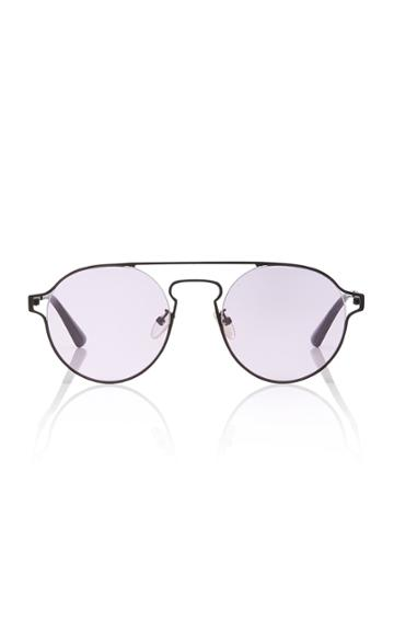 Mcq Sunglasses Round-frame Metal Sunglasses