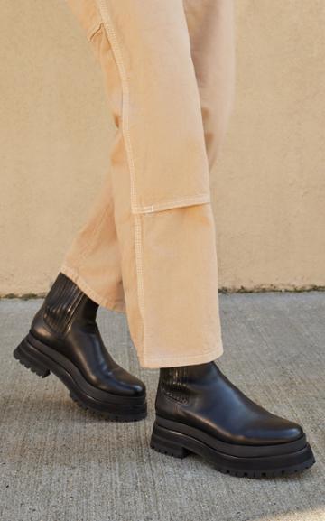 Moda Operandi Loeffler Randall Toni Lug Sole Platform Boots