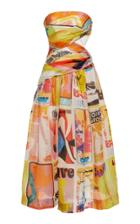 Moda Operandi Zimmermann Brightside Wrap Midi Dress Size: 0