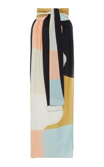 Mara Hoffman Cora Wraparound Linen Skirt