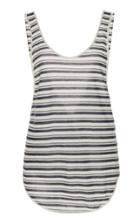 Alanui Striped Knit Tank Top