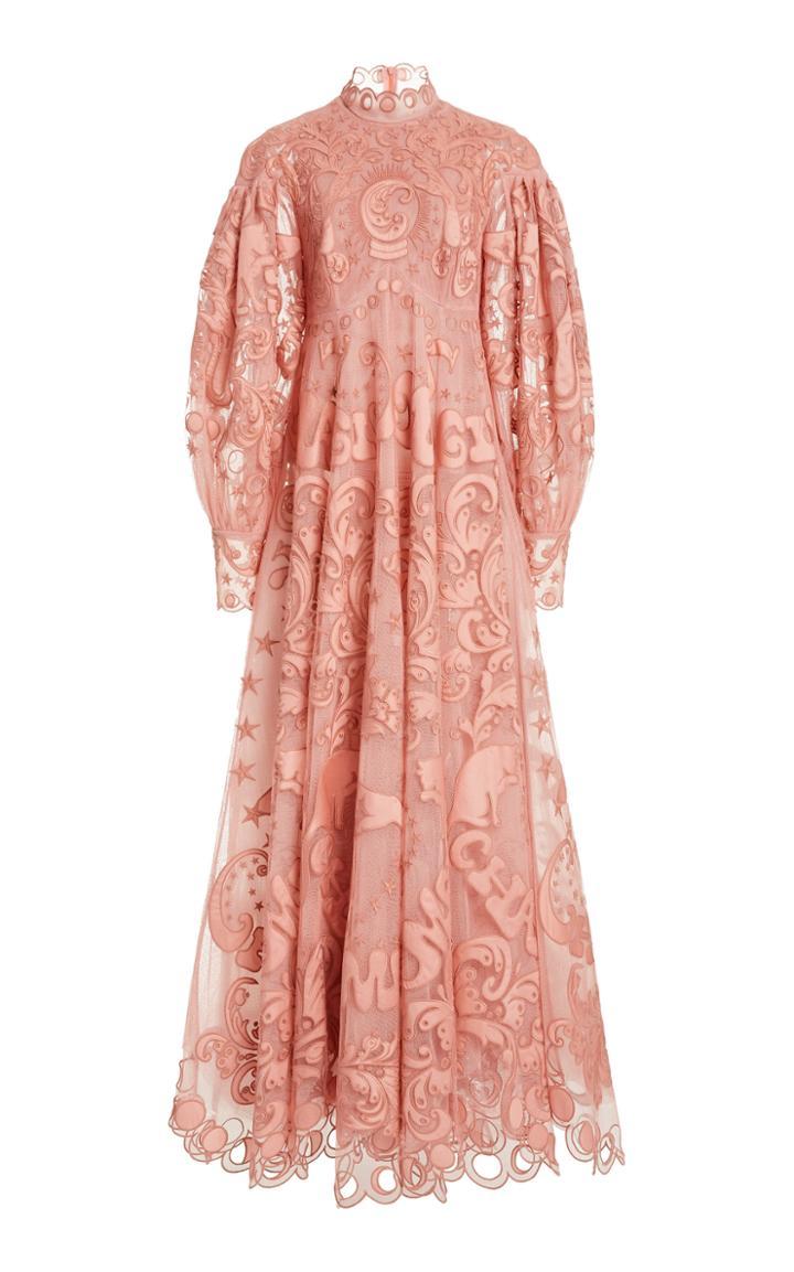 Moda Operandi Zimmermann Ladybeetle Fortune Tulle Dress
