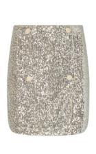 Moda Operandi Rotate London Sequined Mini Wrap Skirt