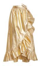 Moda Operandi Zimmermann Ladybeetle Leather Wrap Skirt