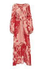 Chufy Paracas Printed Chiffon Dress