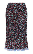Marni Printed Pencil Skirt