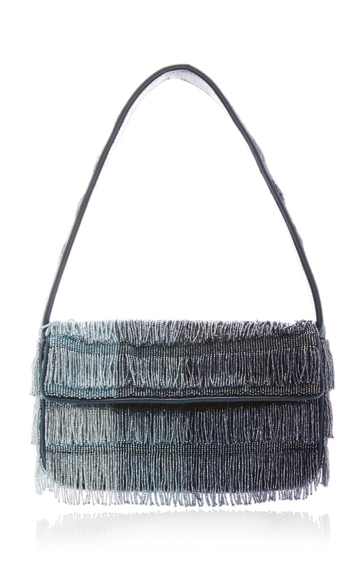 Moda Operandi Staud Tommy Gradient Beaded Shoulder Bag