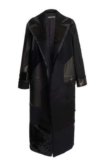 Moda Operandi Tom Ford Patchwork Leather Coat