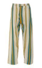 Pro Striped Cotton Pants