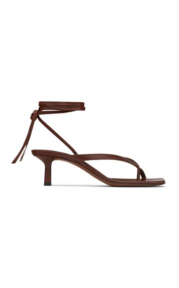 Neous Situla Lace-up Leather Sandals