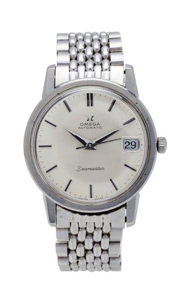 Vintage Watches Omega Dress Watch With Rice Bracelet
