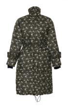 Sea Liberty Floral Puffer Coat