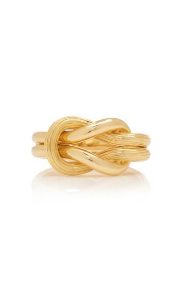 Lalaounis 18k Gold Hercules Knot Ring