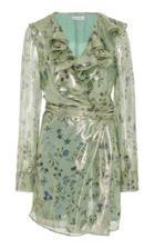 Altuzarra Lennox Ruffle Silk-blend Mini Dress