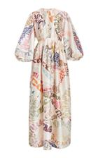 Moda Operandi Zimmermann Ladybeetle Word Midi Dress