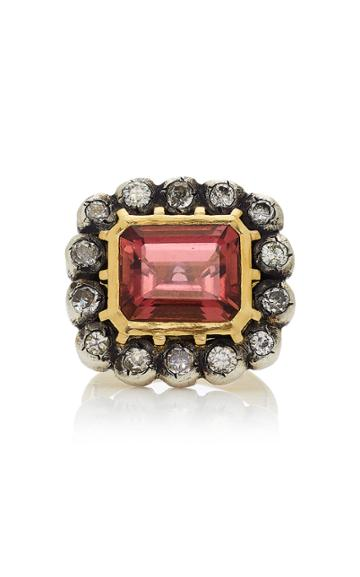 Christina Alexiou Tourmaline And Diamond Ring