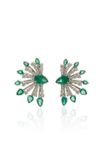 Hueb Mirage Emerald Earrings