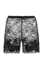 Dundas Embroidered Lace Bike Short