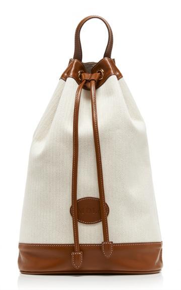 Moda Operandi Marge Sherwood Joy Contrasting Leather Backpack