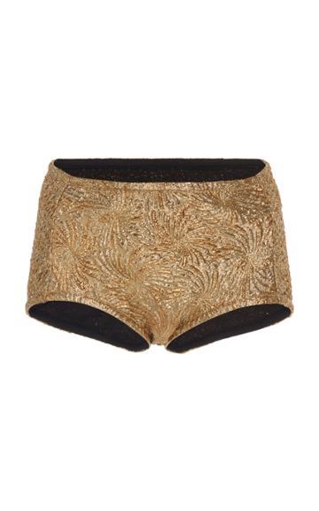 Maison Margiela Lame Cloque Bikini Bottoms
