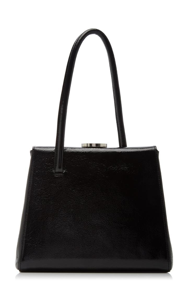 Moda Operandi Little Liffner Madame Patent Leather Top Handle Bag
