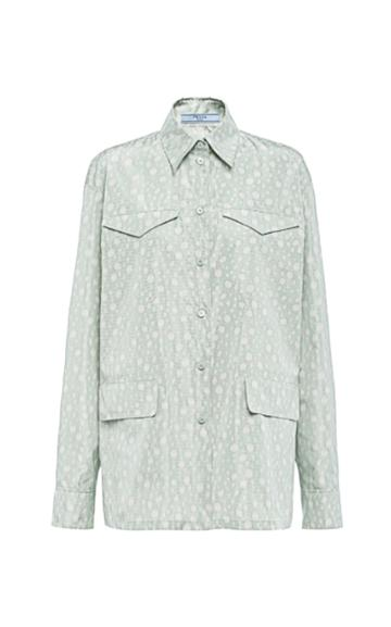 Moda Operandi Prada Silk Shirt
