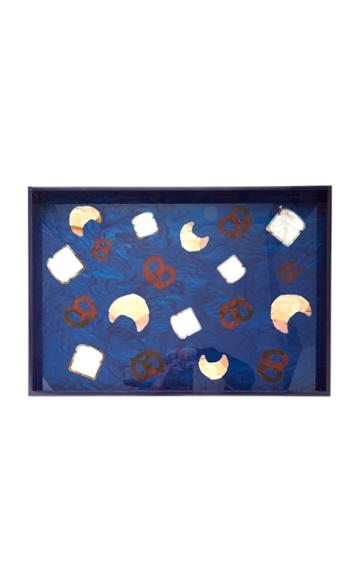 Edie Parker Bread Vanity Glossy Acrylic Tray