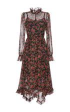 Dolce & Gabbana Floral-print Chiffon Dress