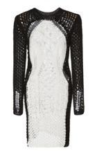 Balmain Crochet Mini Dress
