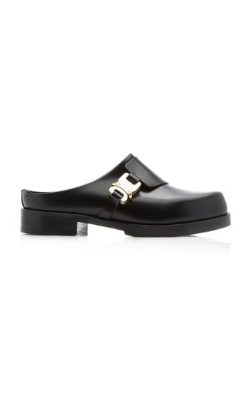 1017 Alyx 9sm Formal Leather Buckle-front Clogs