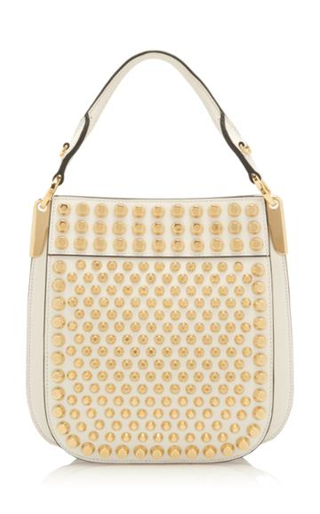 Prada Studded City Calf Bag