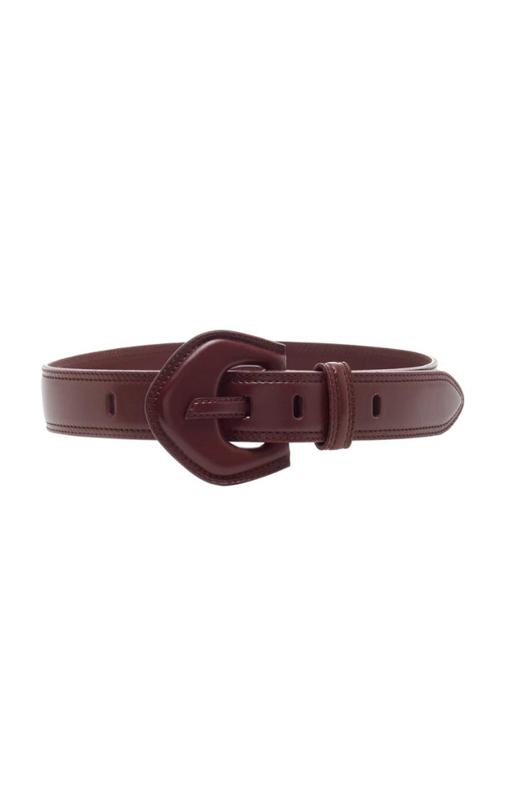 Moda Operandi Zimmermann The Leather Buckle Waist Belt