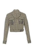 Bottega Veneta Embroidered Belted Jacket