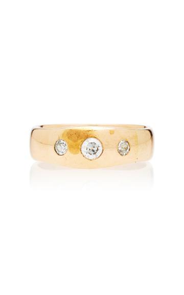 Toni + Chlo Goutal One-of-a-kind Gypsy Three Diamond Ring