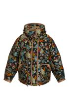Etro Embroidered Hooded Down Jacket