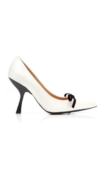 Brock Collection Satin Bow Pumps
