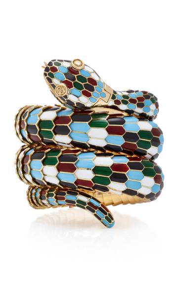 Gioia Vintage Bulgari Harlequin Serpenti Bracelet-watch