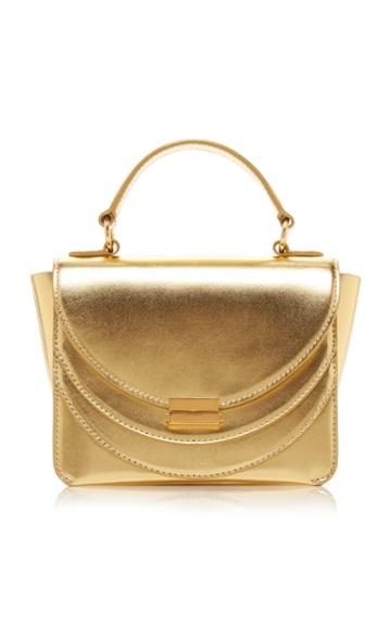 Wandler Luna Mini Metallic Leather Shoulder Bag