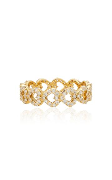 Ashley Mccormick 18k Gold And Diamond Ring